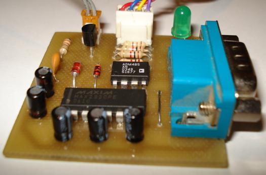 Преобразователь интерфейса предназначен для сопряжения компьютера через СОМ порт с сетью RS485, для передачи...
